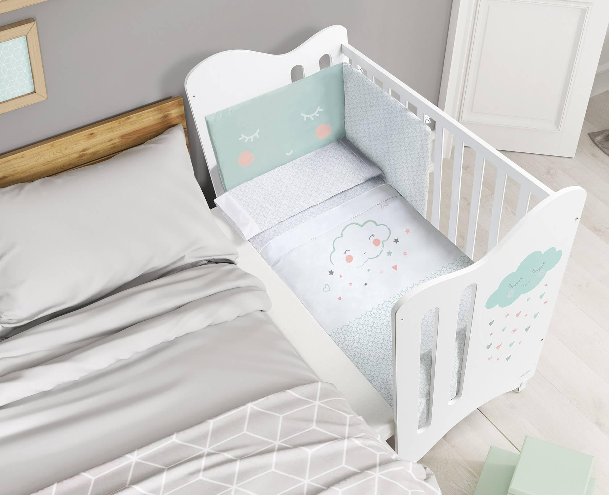 łóżeczko Lili Micuna 66 X 120 X 106 Cm